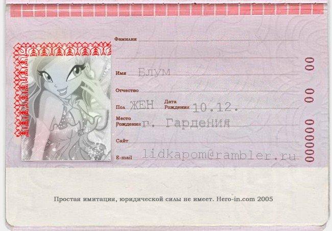 Паспорта красивые и как сделать паспорт