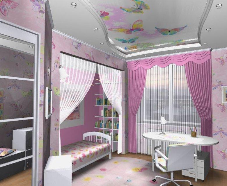 Комнаты для девочки дизайн комнаты